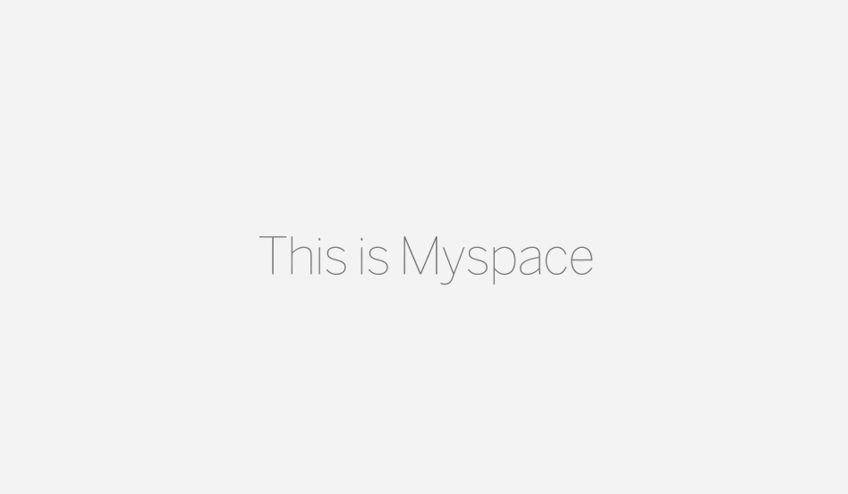 New Myspace