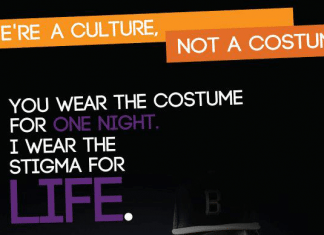 We're a Culture Not a Costume