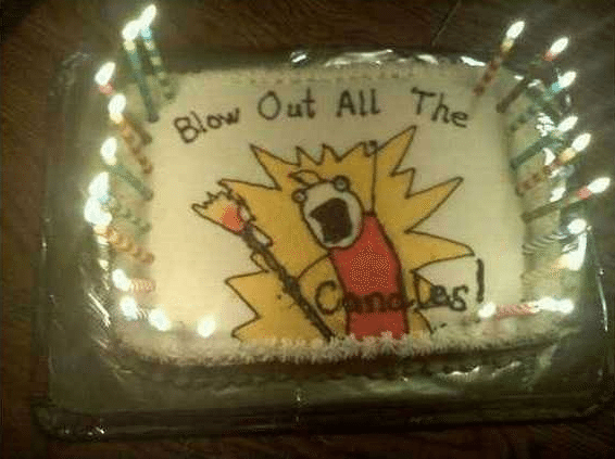 Best of Meme Birthday Cakes (All the Things Meme)