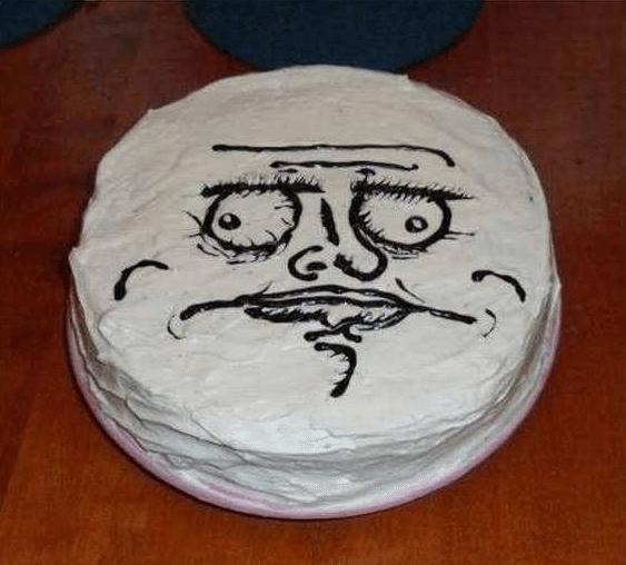Best of Meme Birthday Cakes (Me Gusta)