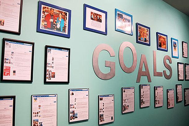 set goals to maximize your brainpower