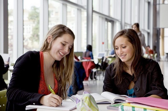 study with a partner