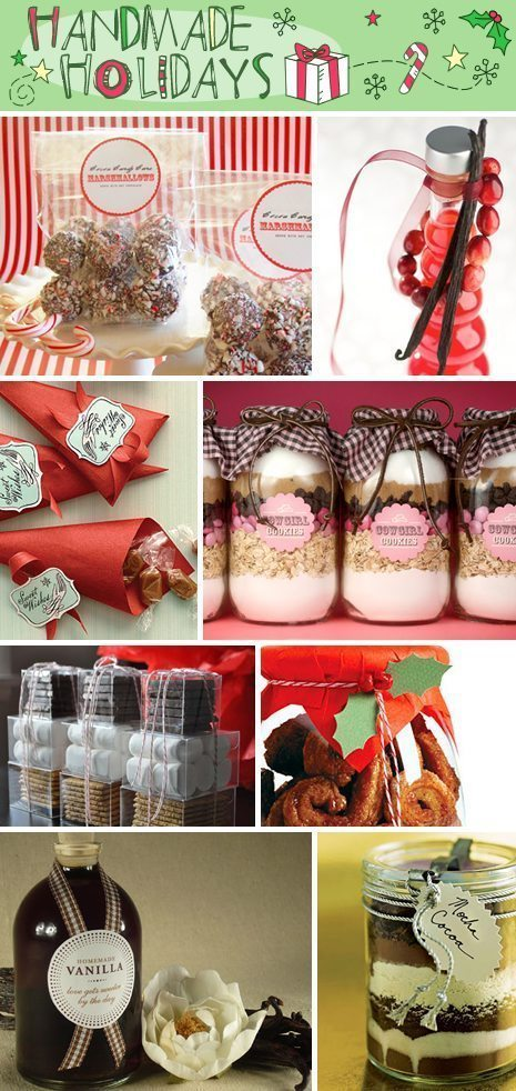 DIY Food Christmas Gifts