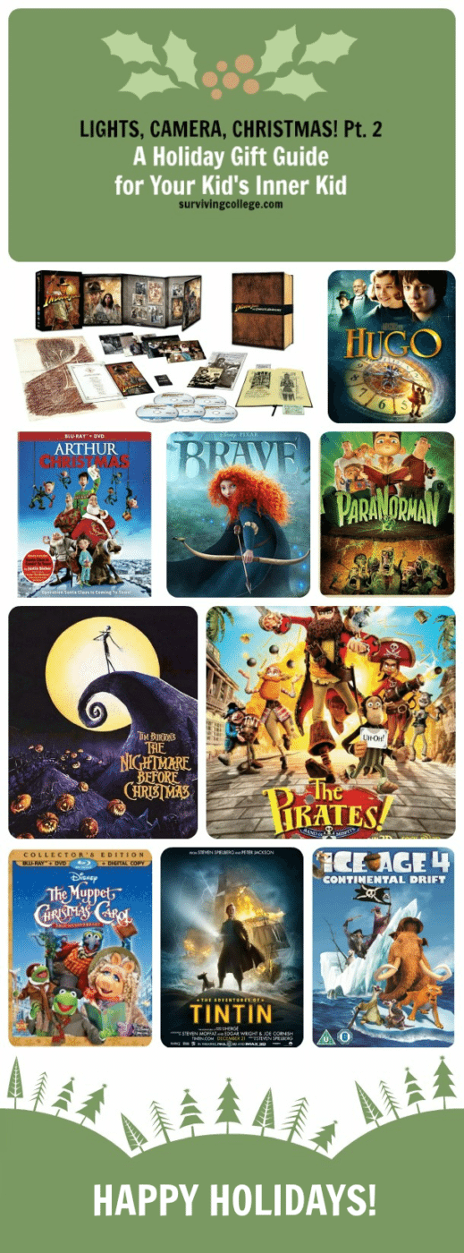 Holiday Gift Guide Kid Movies
