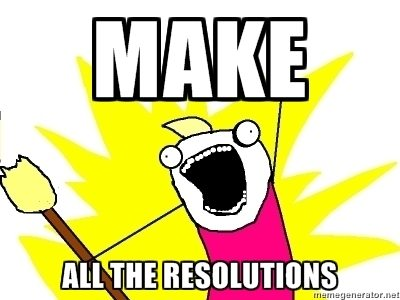 New Year's Resolutions Meme