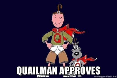 Doug Meme Quailman Approves