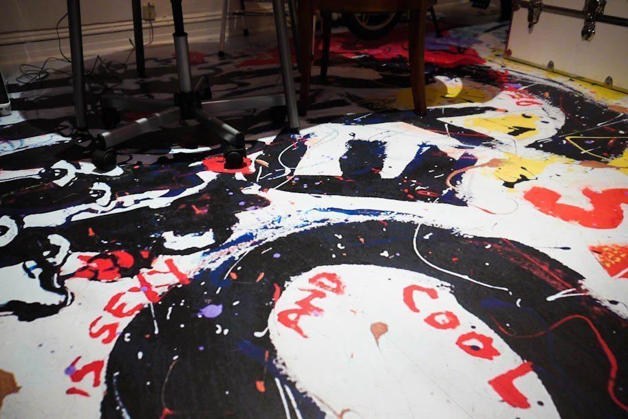 Zing Revolution Floor Art