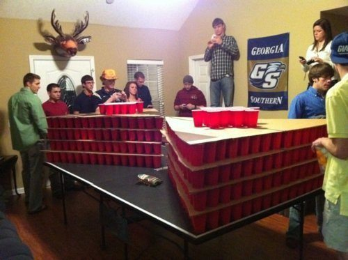 wtf college life beer pong