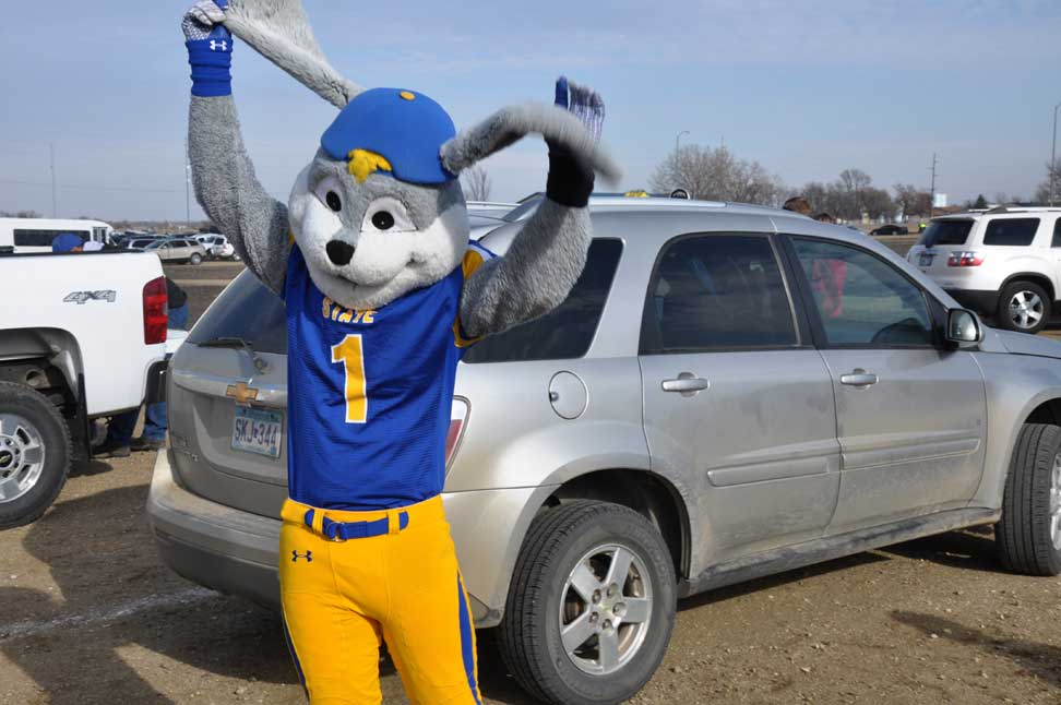 Mascot Monday South Dakota Jackrabbits