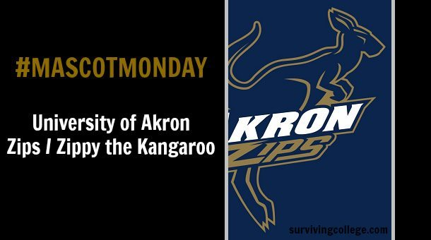 mascot monday the university of akron zips surviving college