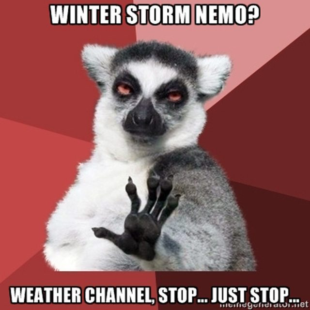 Winter Storm Nemo Memes