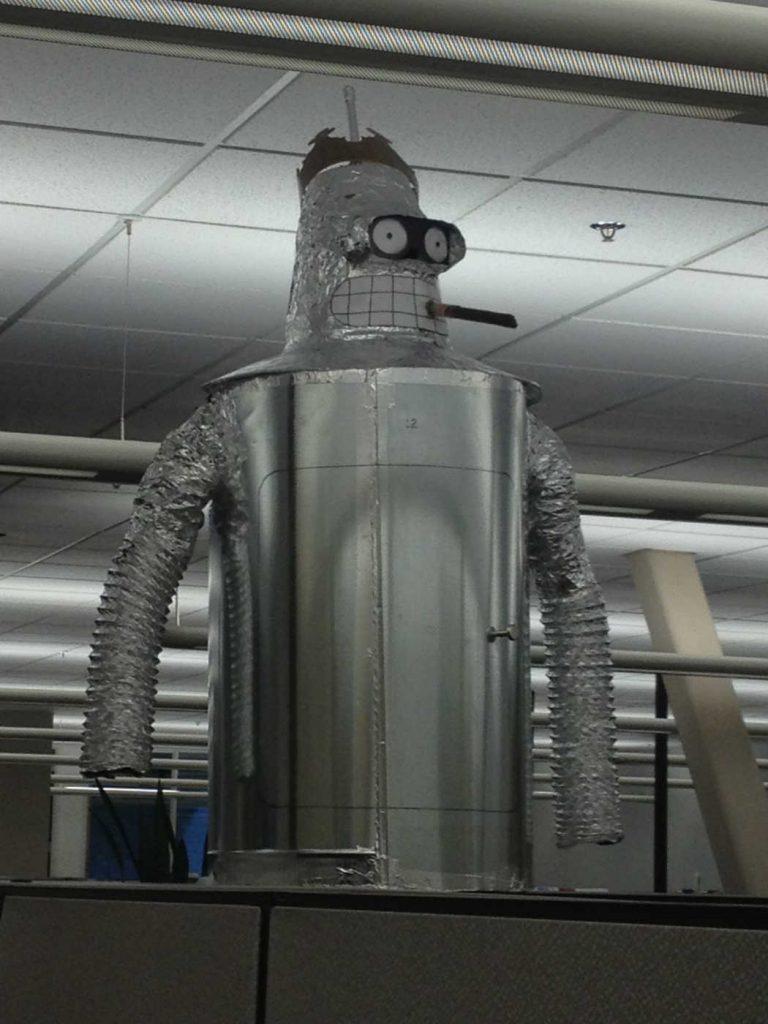 wtf college robot futurama