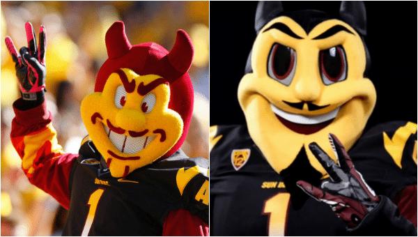 ASU Arizona State Sun Devils New Sparky Mascot Disney