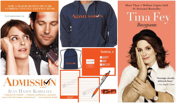Admission Tina Fey Paul Rudd Giveaway Prize Pack