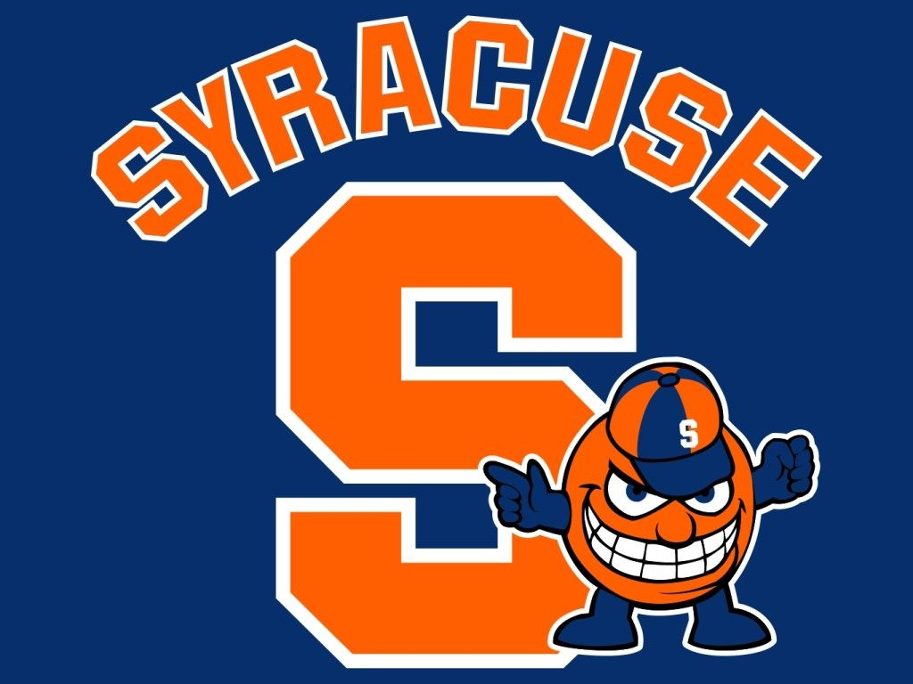 Syracuse University Oranges Mascot Monday Logo