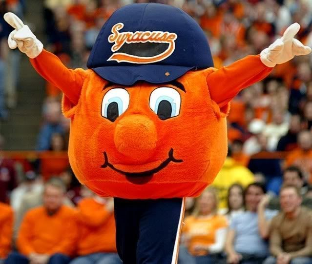 Syracuse University Oranges Mascot Monday