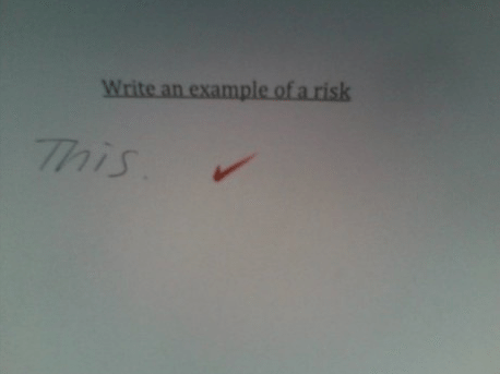 wtf college test answer