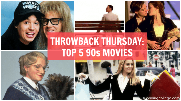 Throwback Thursday 90s Movies