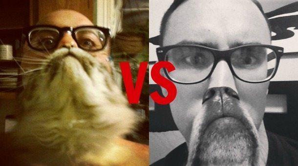 Cat Beards vs Dog Beards