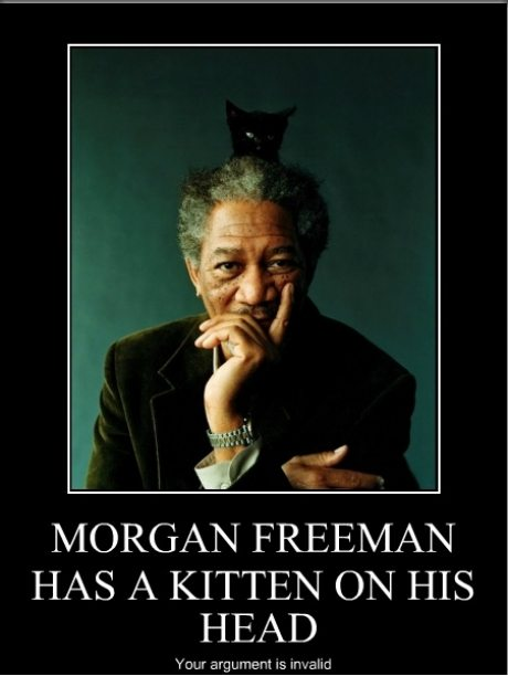 11 Memes To Celebrate Morgan Freeman's Birthday | Campus Riot Ugly Christmas Sweater Party Funny