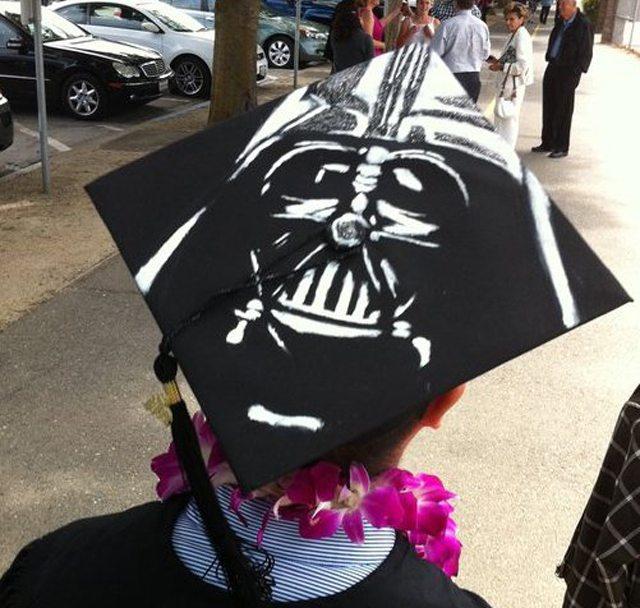 Darth Vader Graduation Cap