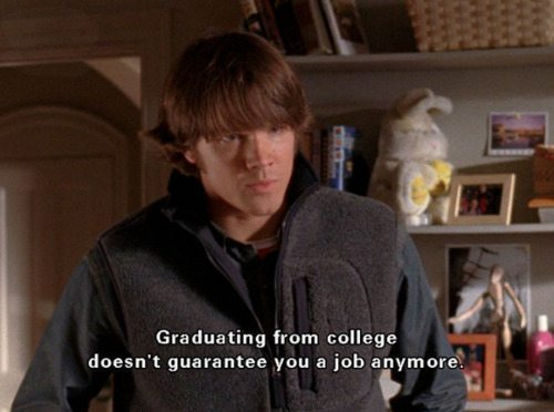 Gilmore Girls College Jobs Dean