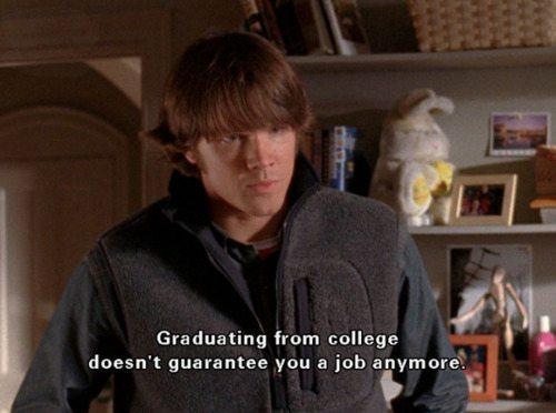 Gilmore Girls College Jobs Dean