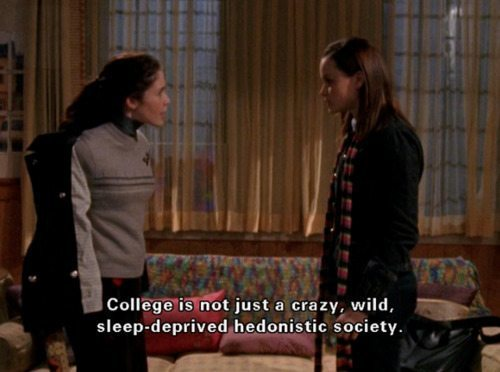 Gilmore Girls College Rory