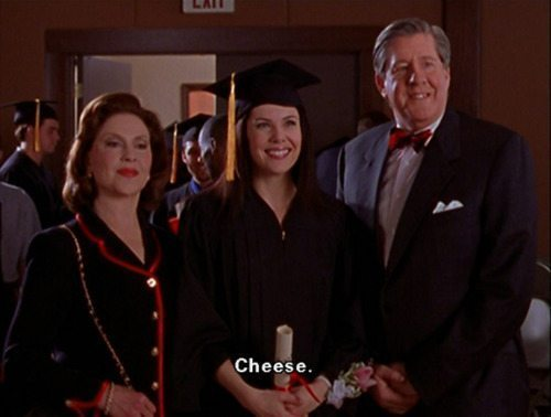Gilmore Girls Lorelai Graduation