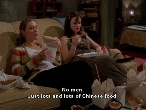 Gilmore Girls Rory Chinese Food