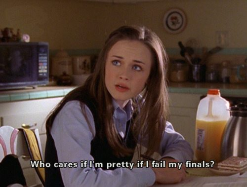 Gilmore Girls Rory Finals Pretty