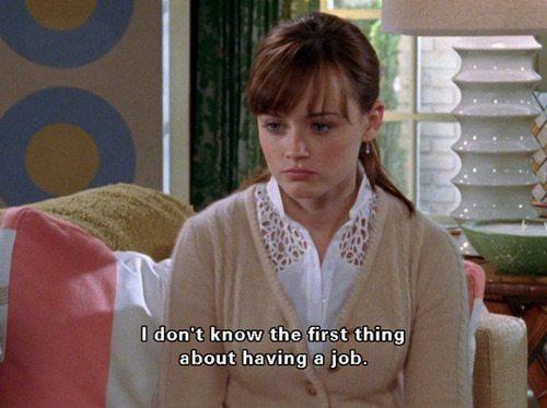 Gilmore Girls Rory Jobs