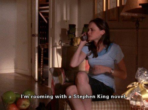 Gilmore Girls Rory Stephen King Roommates