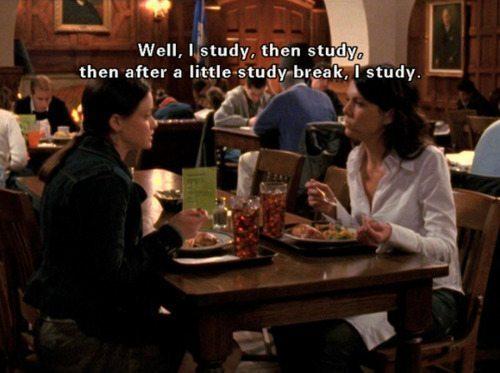 Gilmore Girls Study Break Rory