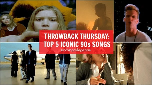 Throwback Thursday: Top 5 Iconic Songs of the 90s