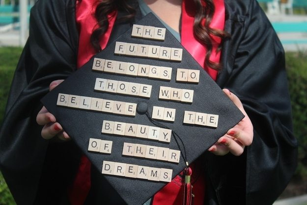 Inspirational Graduation Cap