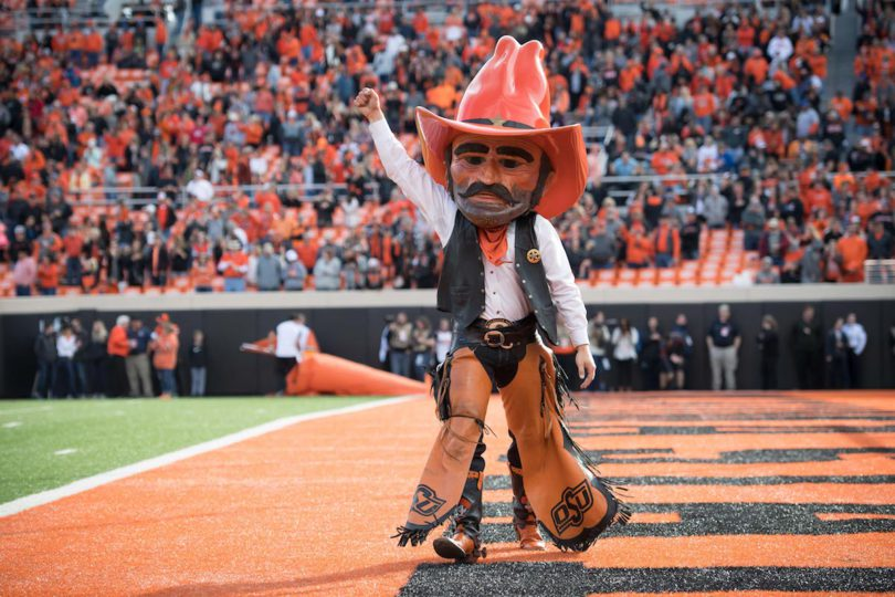 OSU Cowboys Oklahoma State University Cowboys Mascot Monday