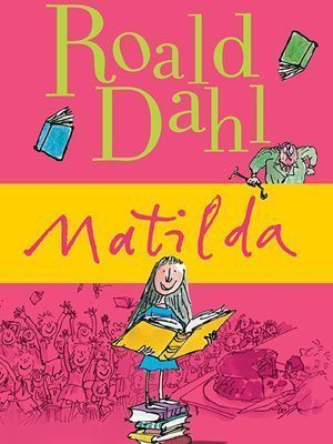 Roald Dahl Matilda Book Top 90s Books