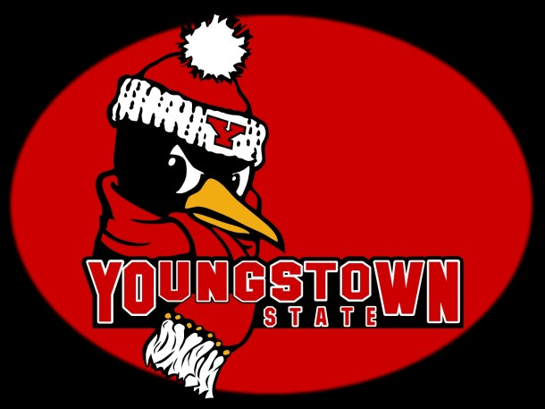 Youngstown State Penguins Logo Mascot Monday