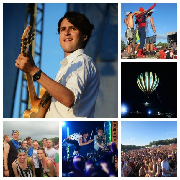 Firefly Music Festival Ezra Koenig Vampire Weekend Matt and Kim Hot Air Balloon