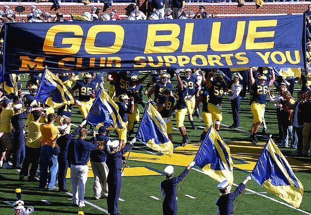 Go Blue Banner College Football