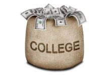 bag of money - college