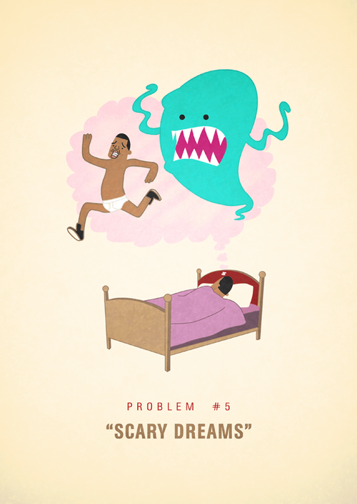 Ali Graham Jay Z 99 Problems Illustration Scary Dreams