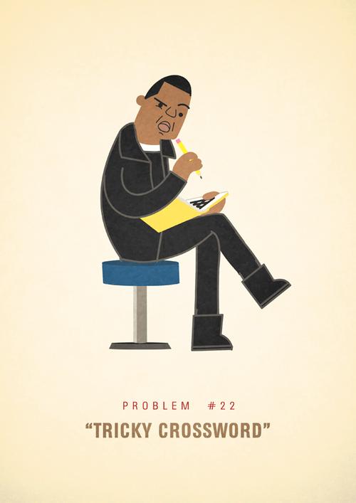Ali Graham Jay Z 99 Problems Illustration Tricky Crossword