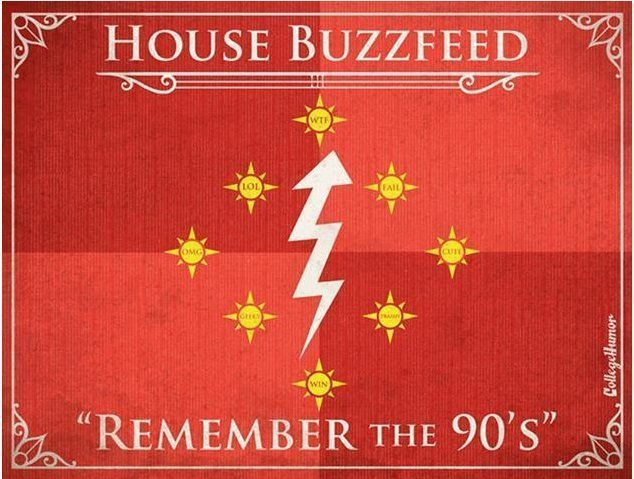 Game of Thrones House of Buzzfeed H Caldwell Tanner