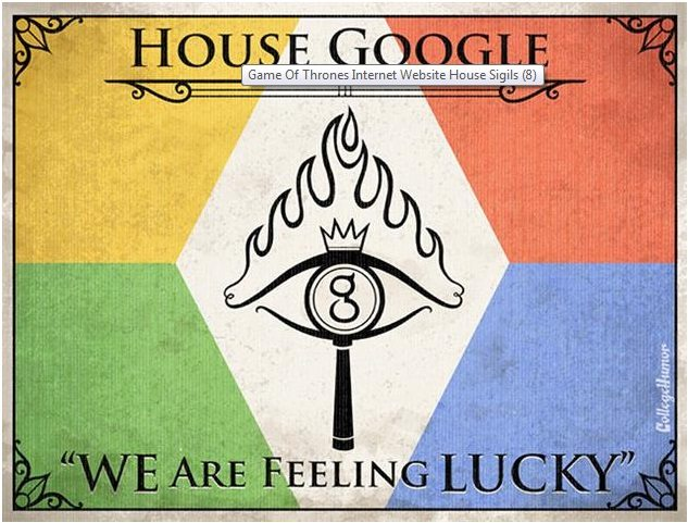 Game of Thrones House of Google H Caldwell Tanner