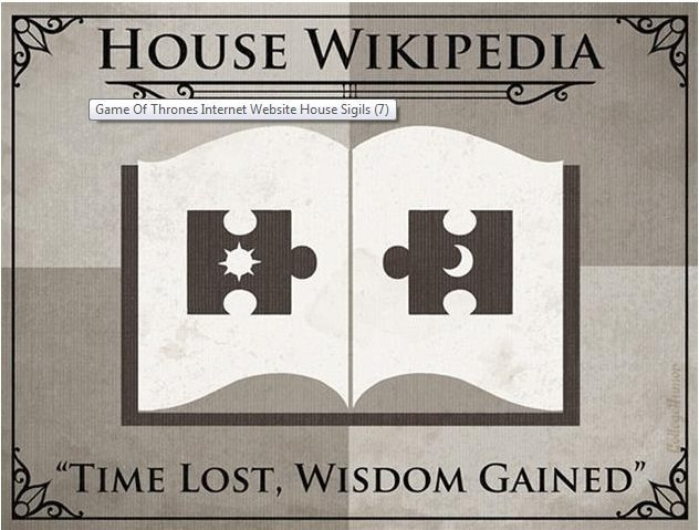 Game of thrones House of wikipedia H Caldwell Tanner