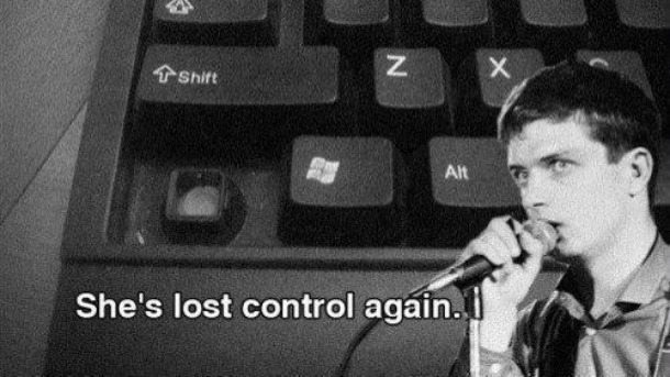 Ian Curtis She's Lost Control