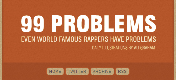 Jay Z's 99 Problems Illustrations Tumblr