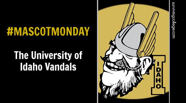 Joe Vandal University of Idaho Vandals Mascot